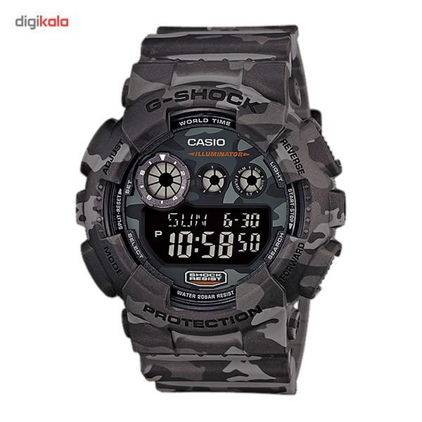خرید ساعت مچی دیجیتالی مردانه کاسیو جی شاک GD-120CM-8DR