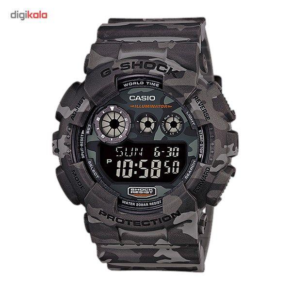 ساعت مچی دیجیتالی مردانه کاسیو جی شاک GD-120CM-8DR main 1 1