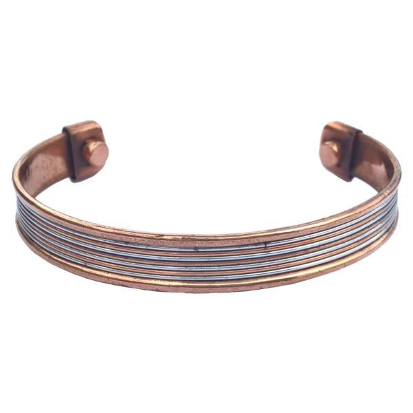 دستبند مسی مدل C4