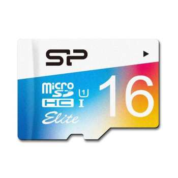 کارت حافظه microSDHC سیلیکون پاور مدل Color Elite کلاس 10 استاندارد UHC-I U1 سرعت 85MBps ظرفیت 16 گیگابایت