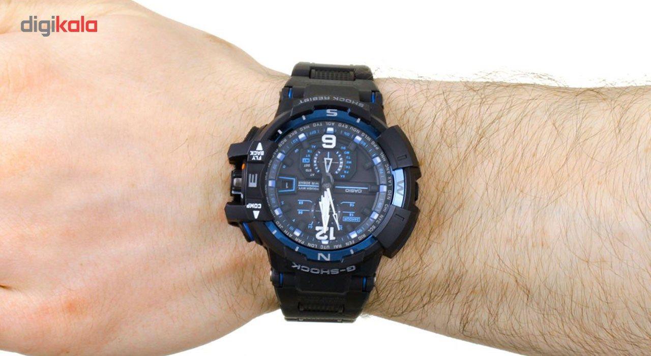 ساعت مچی عقربه ای مردانه کاسیو جی شاک مدل GW-A1100FC-1ADR -  - 7