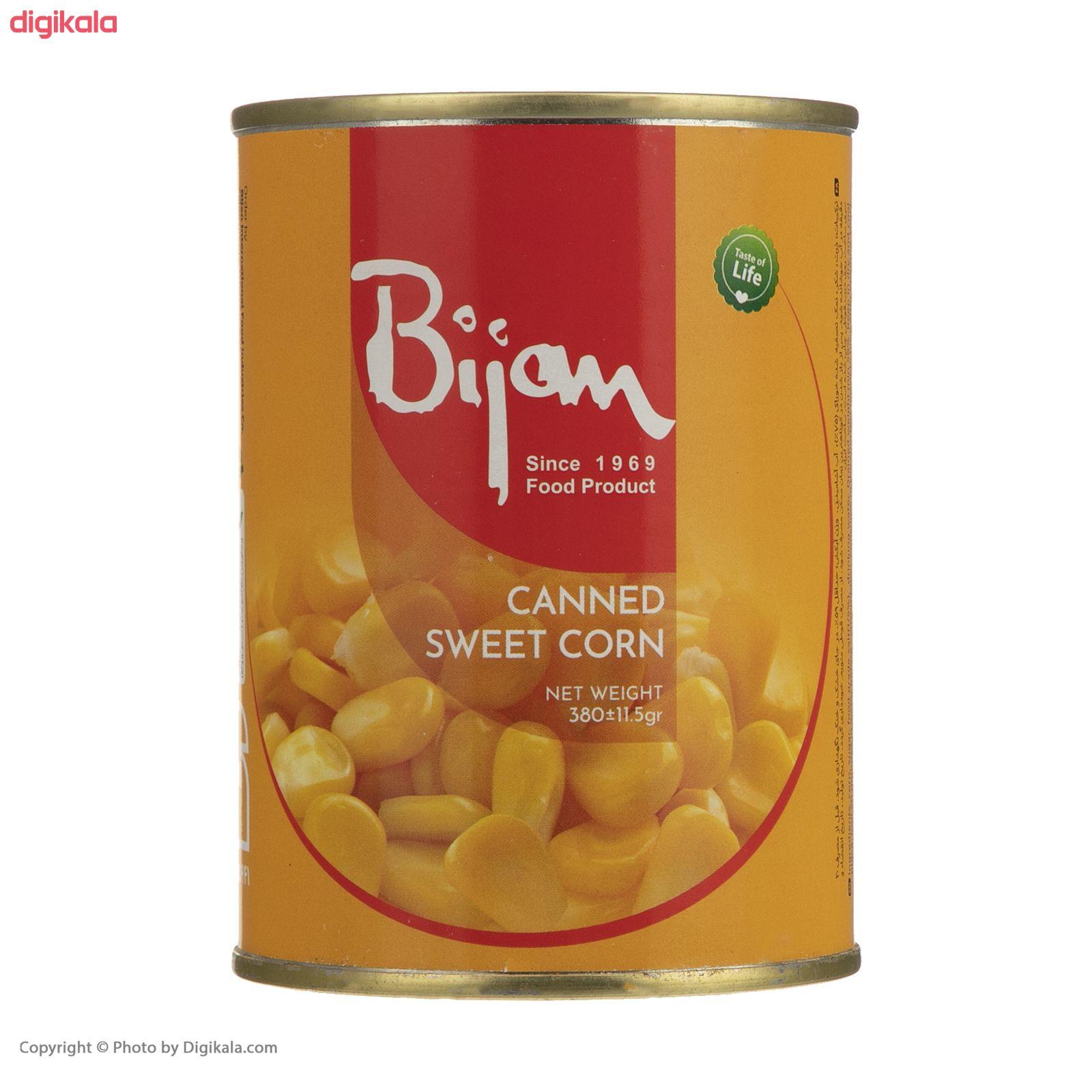 کنسرو ذرت شیرین بیژن - 380 گرم  main 1 2