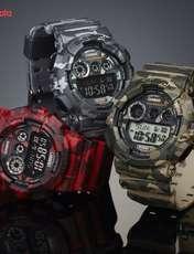 ساعت مچی دیجیتالی مردانه کاسیو جی شاک GD-120CM-8DR -  - 1