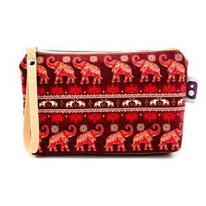 کیف لوازم آرایش هیدورا طرح فیل ها