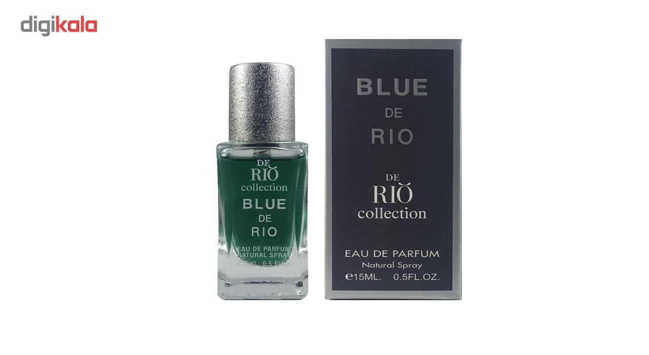 ادو پرفیوم مردانه ریو کالکشن مدل Rio Blue De Rio حجم 15ml