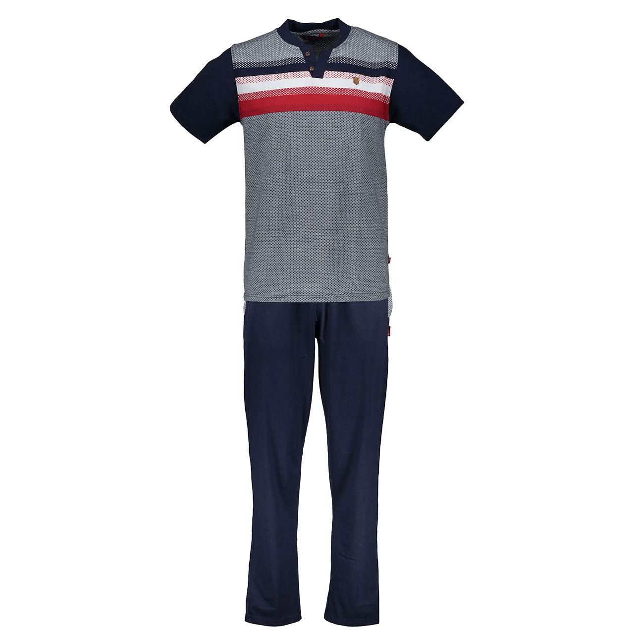 ست تی شرت و شلوار مردانه پی جامه مدل 2155
