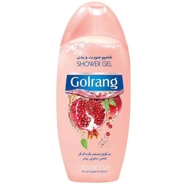 شامپو بدن گلرنگ مدل Pomegranate مقدار 400 گرم