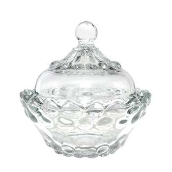 قندان شیشه و بلور اصفهان مدل یاقوت