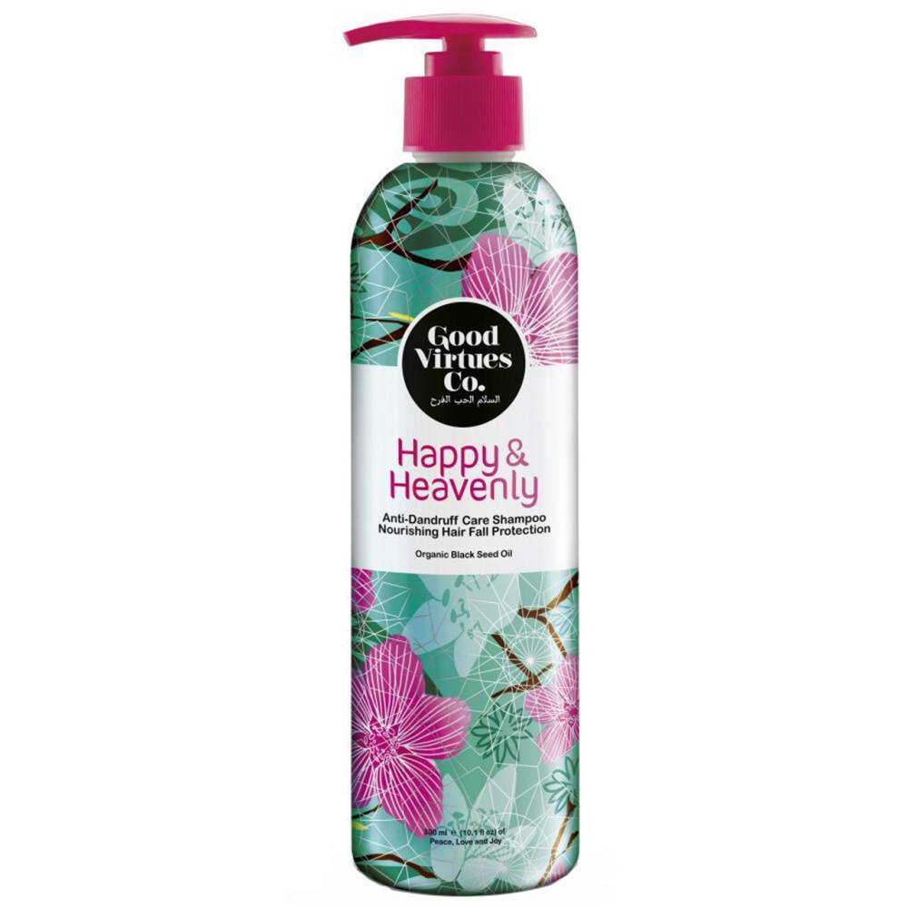 شامپو مغذی و ضد ریزش مو گود ورچو مدل Anti Dandruff Care Shampoo حجم 300 میلی لیتر