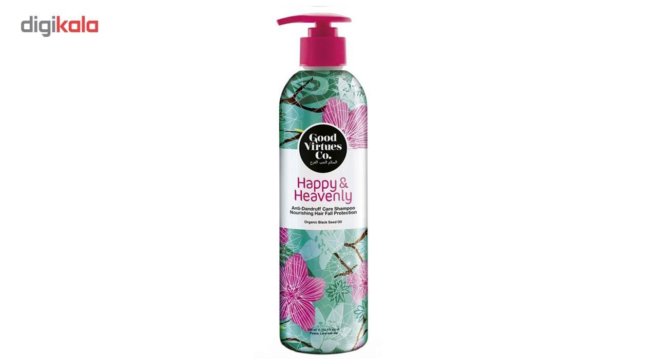 شامپو مغذی و ضد ریزش مو گود ورچو مدل Anti Dandruff Care Shampoo حجم 300 میلی لیتر -  - 2