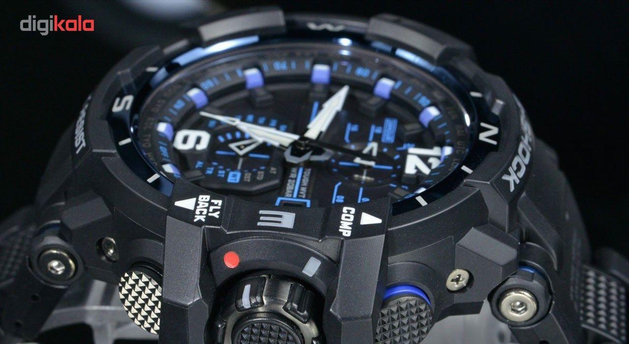 ساعت مچی عقربه ای مردانه کاسیو جی شاک مدل GW-A1100FC-1ADR -  - 10