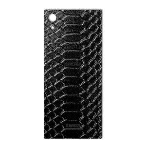 برچسب پوششی ماهوت مدل Snake Leather مناسب برای گوشی  Sony Xperia XA1