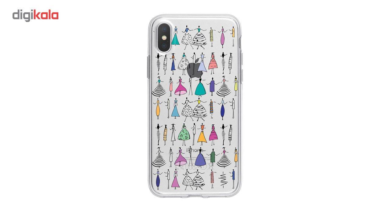 کاور ژله ای وینا مدل Dance مناسب برای گوشی موبایل آیفون X / 10 main 1 1