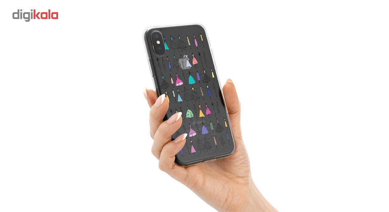 کاور ژله ای وینا مدل Dance مناسب برای گوشی موبایل آیفون X / 10 main 1 3