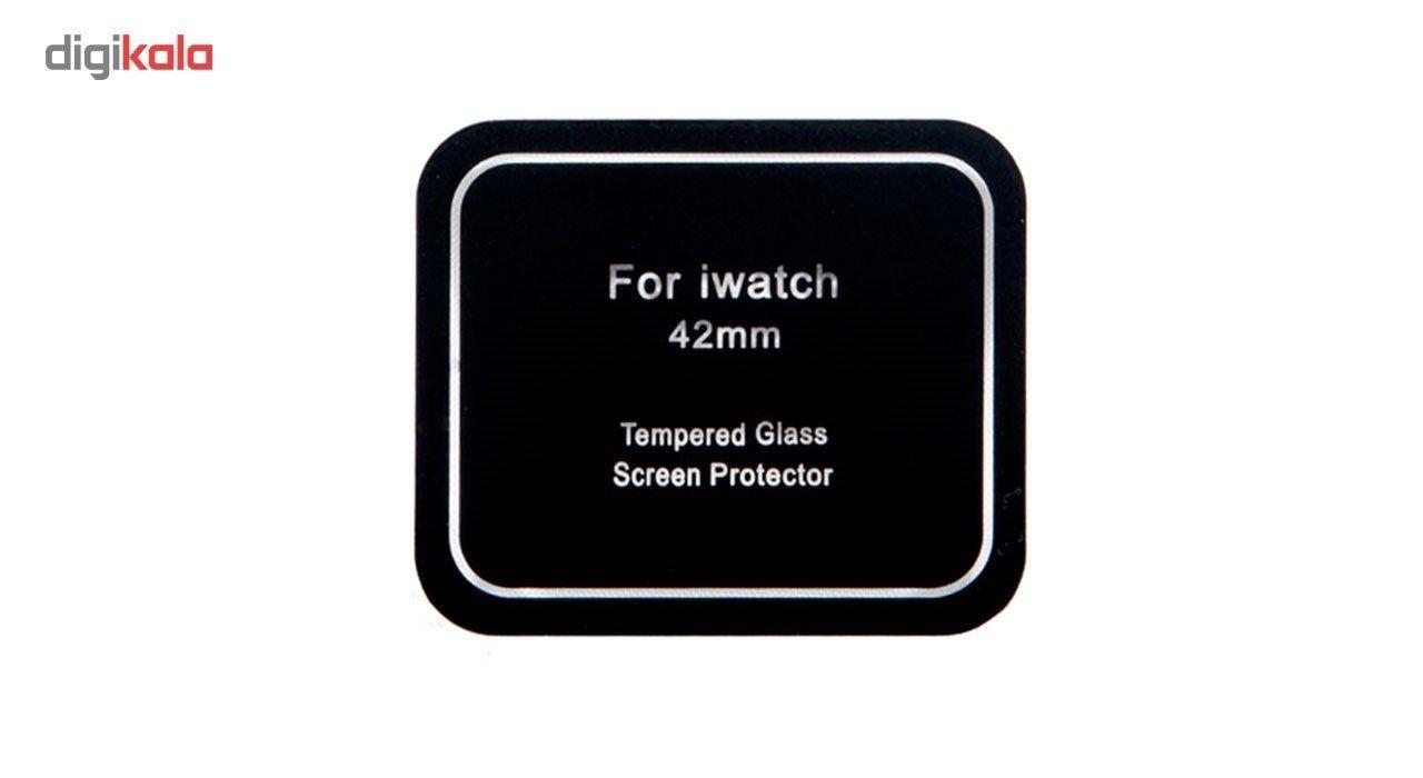 محافظ صفحه نمایش شیشه ای مدل Tempered Glass مناسب برای اپل واچ 38 میلی متر main 1 3