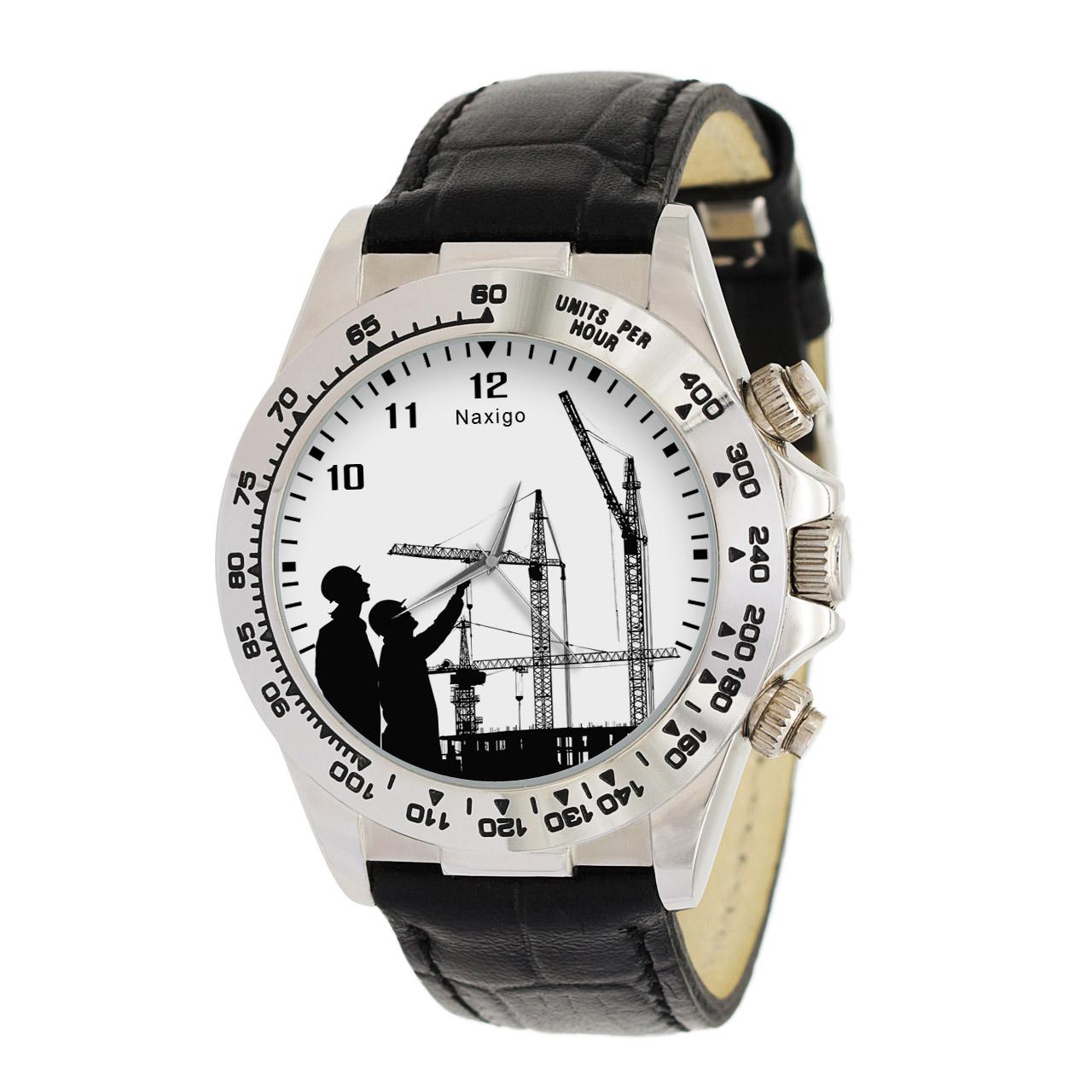 ساعت مچی  مردانه ناکسیگو طرح معماری کد LS3524