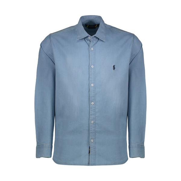 پیراهن آستین بلند مردانه پولو مدل LS14