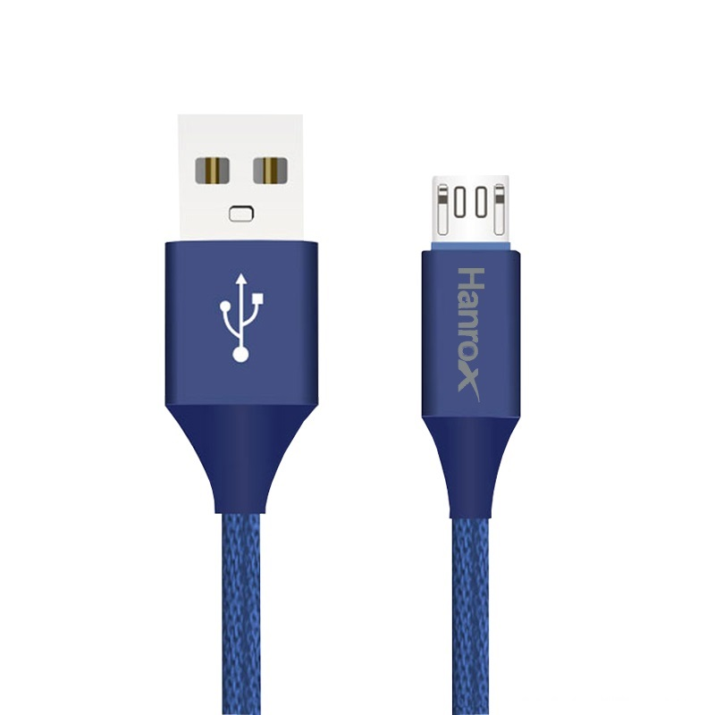 کابل تبدیل USB به microUSB هانروکس مدل M11 طول 1 متر