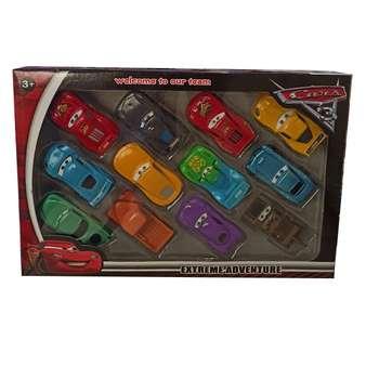 ماشین بازی مدل مکویین بسته 12 عددی