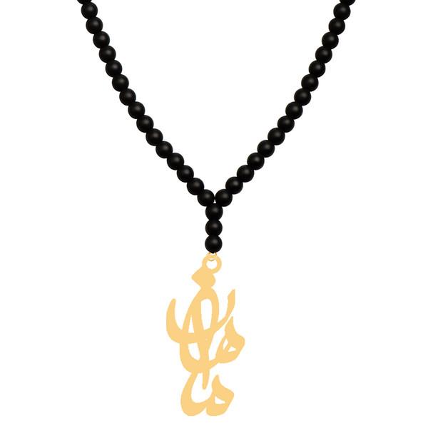 گردنبند طلا 18 عیار زنانه کرابو طرح ماهان مدل Kr71435