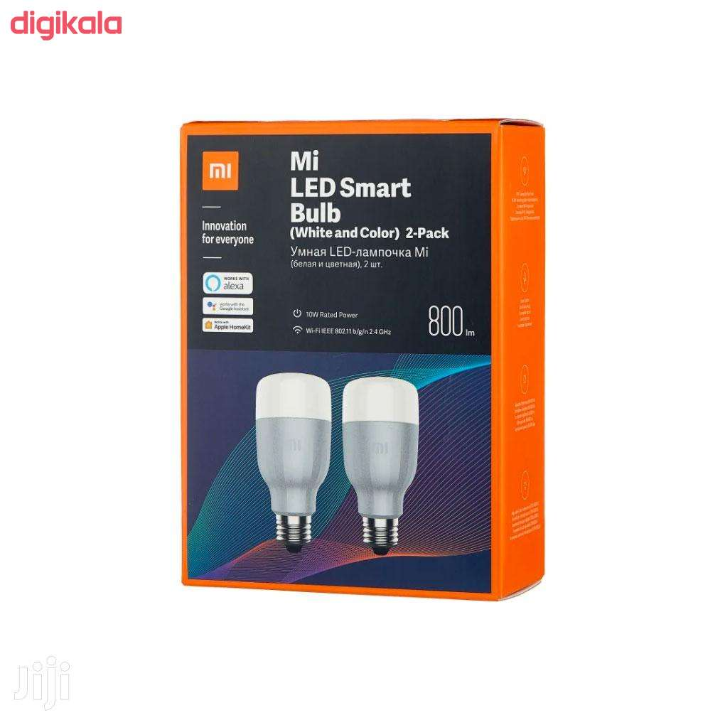 لامپ ال ای دی هوشمند 10 وات شیائومی مدل MJDP02YL پایه E27 بسته 2 عددی main 1 1