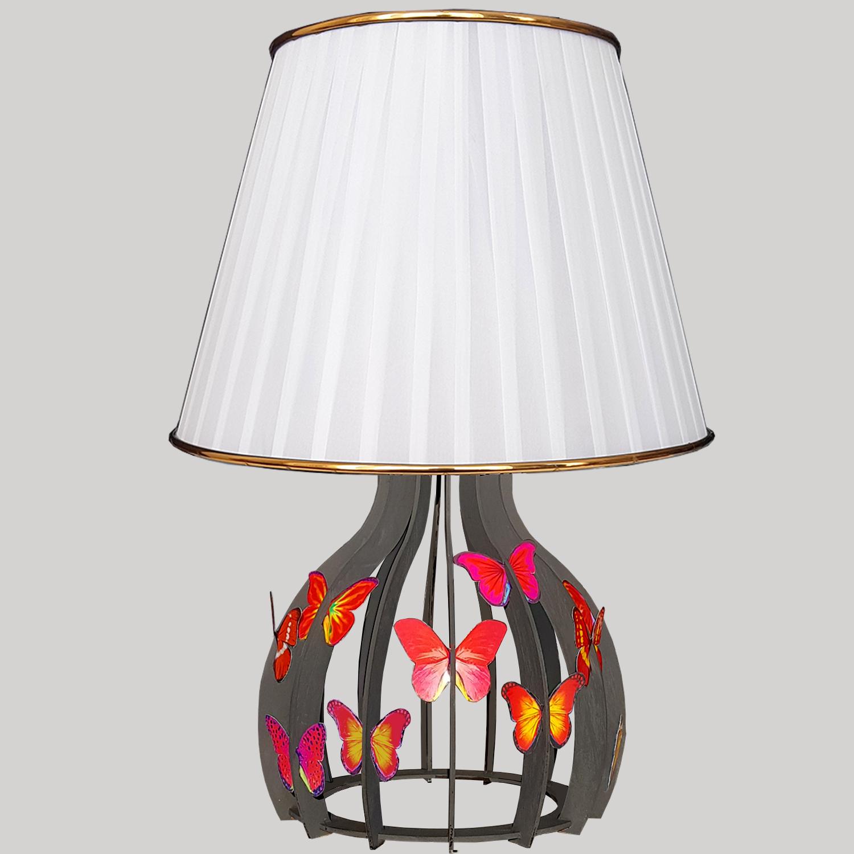 آباژور رومیزی طرح پروانه مدل Darr