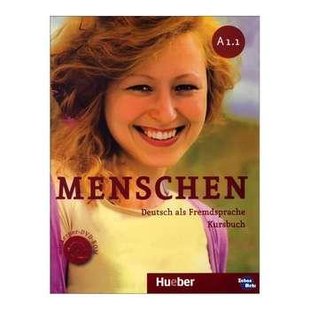 کتاب menschen A1.1 اثر جمعی از نویسندگان انتشارات زبان مهر
