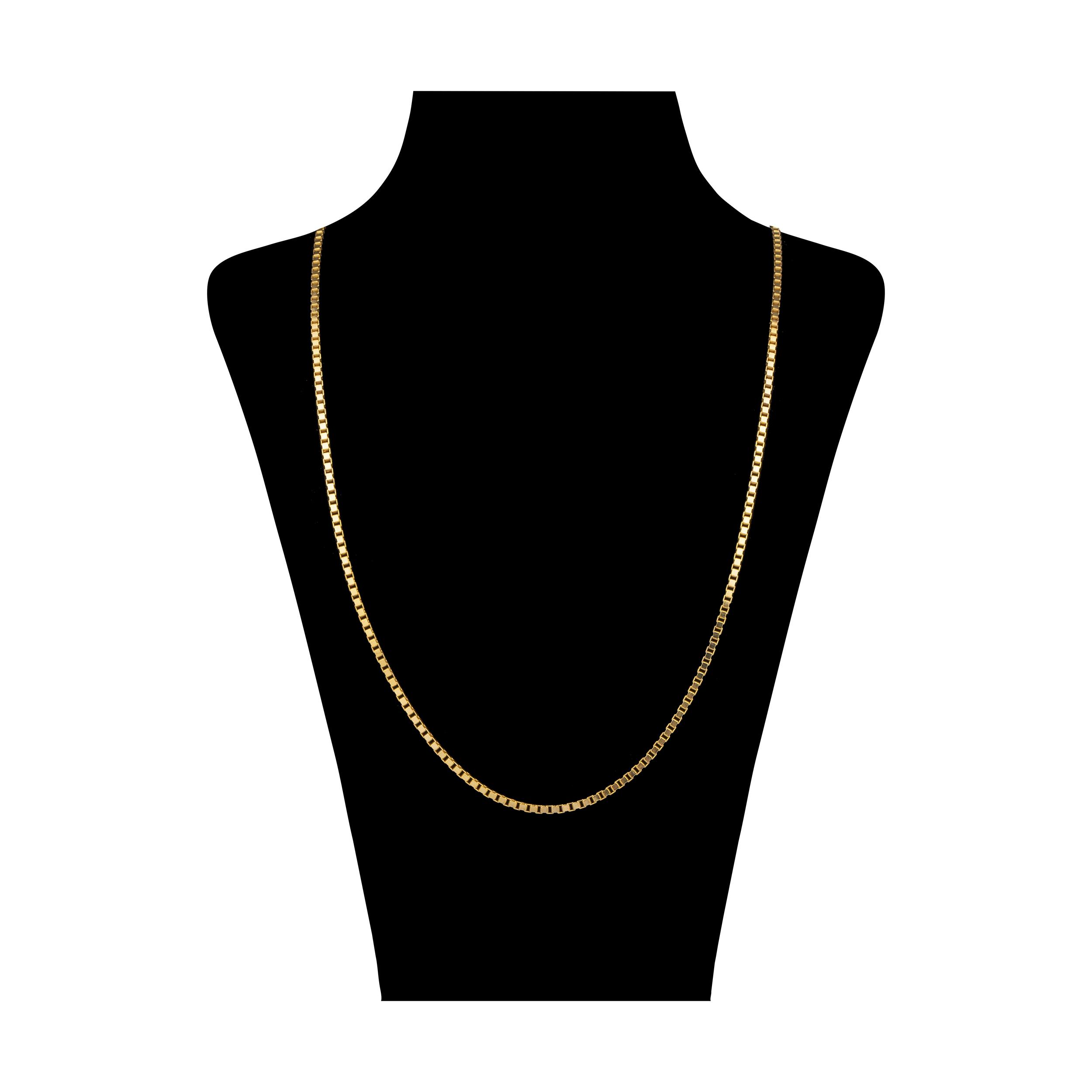 زنجیر طلا 18 عیار زنانه آلند کد TZ32