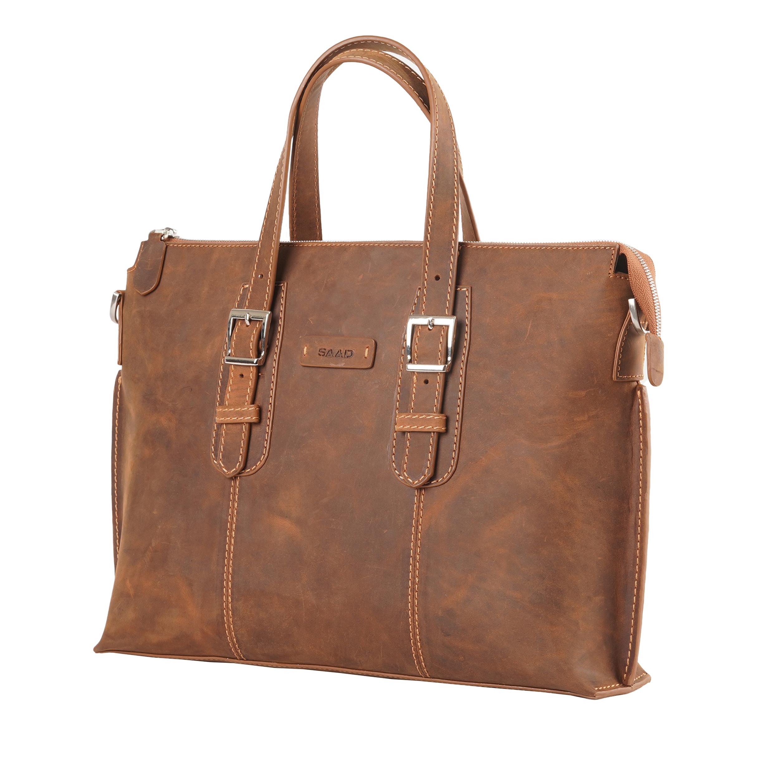 کیف دستی مردانه صاد کد AS1601
