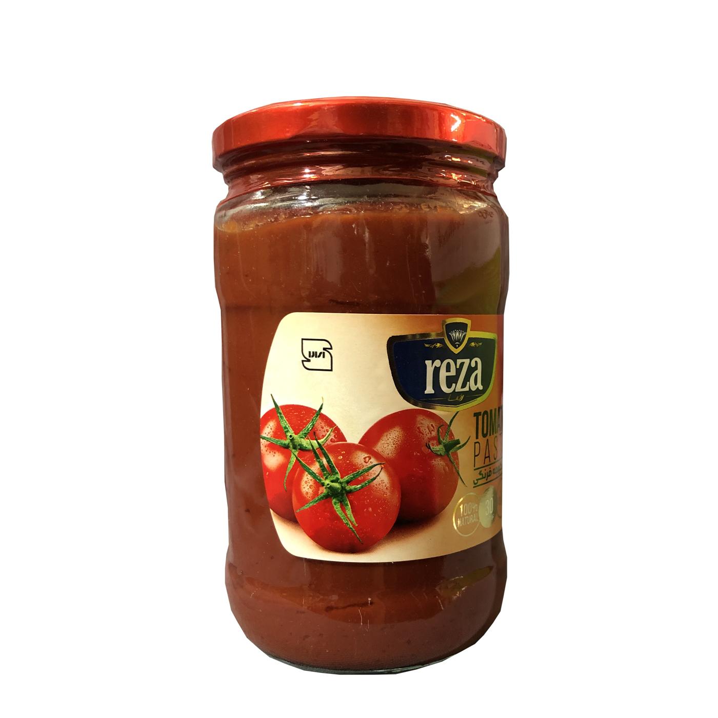 رب گوجه فرنگی ویژه رضا - 680 گرم