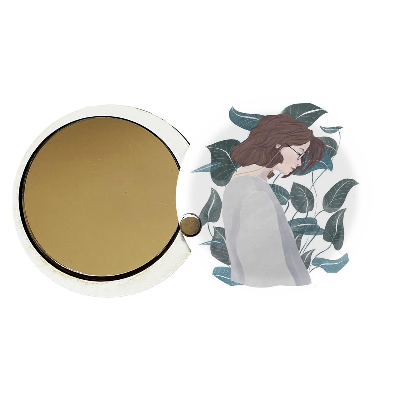 آینه جیبی طرح دخترانه کد ay99