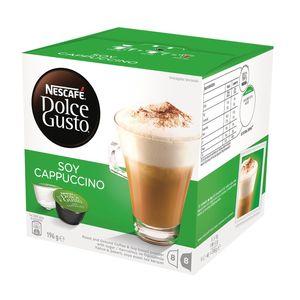 کپسول قهوه دولچه گوستو مدل Soy Cappuccino