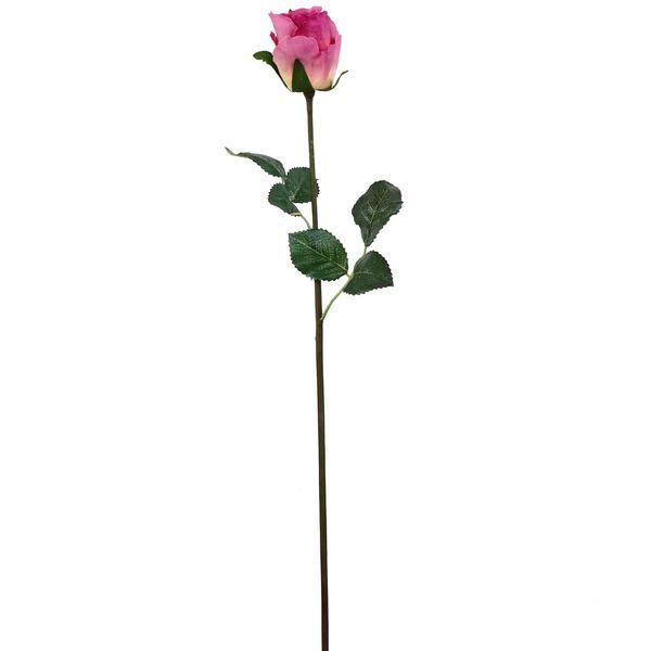گل مصنوعی هومز طرح رز غنچه نیمه باز مدل 42052 مجموعه 4 عددی