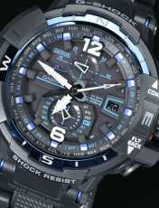 ساعت مچی عقربه ای مردانه کاسیو جی شاک مدل GW-A1100FC-1ADR -  - 12