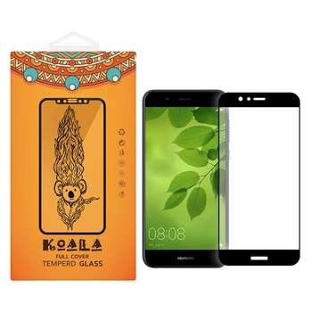 محافظ صفحه نمایش شیشه ای کوالا مدل Full Cover مناسب برای گوشی موبایل هوآوی Nova 2 Plus