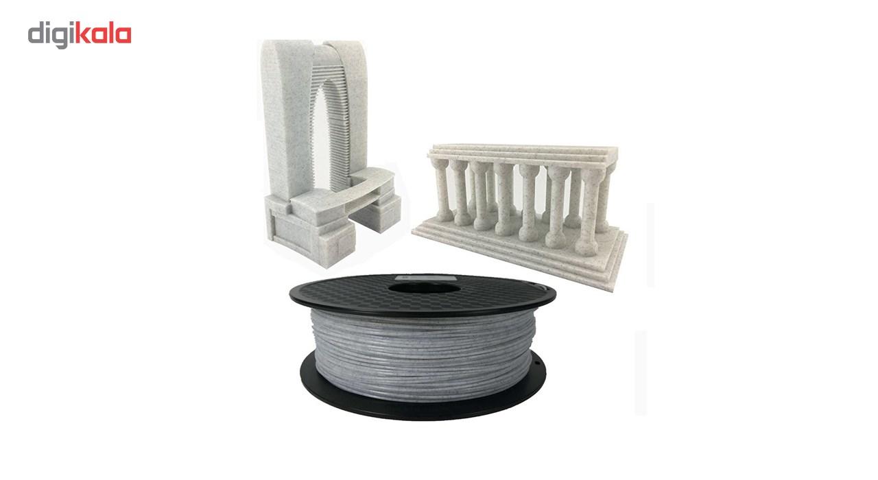قیمت                      فیلامنت پرینتر سه بعدی PLA  ام ان  مرمر  1.75 میلیمتر   1 کیلو