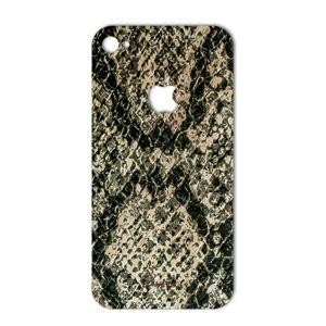 برچسب تزئینی ماهوت مدلJungle-python Texture مناسب برای گوشی  iPhone 4s