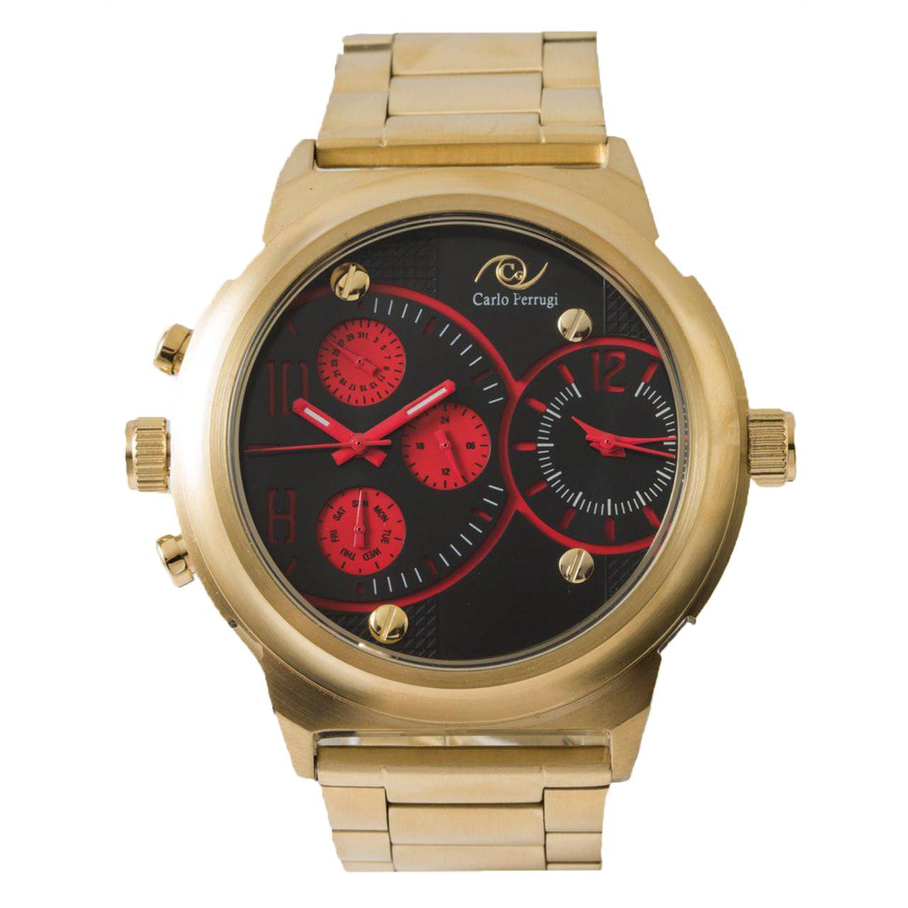 ساعت مچی عقربه ای مردانه کارلو پروجی مدل S121 55