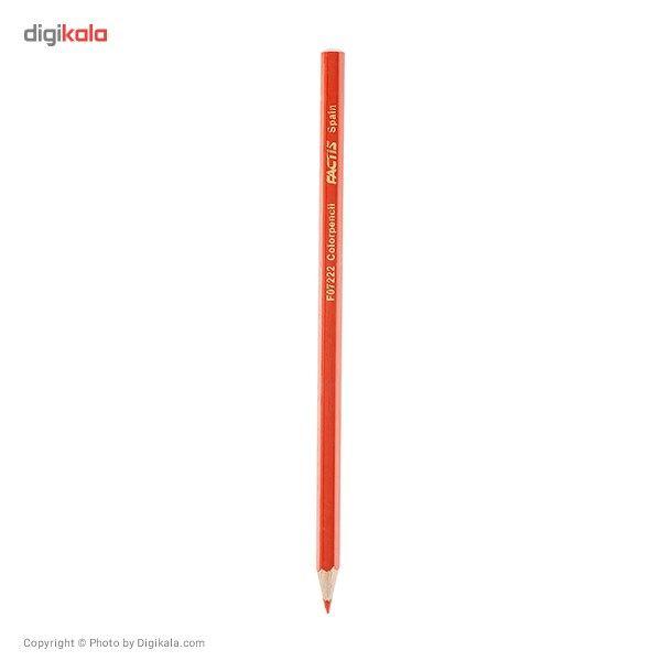 مداد رنگی 36 رنگ فکتیس با جعبه استوانهای main 1 3