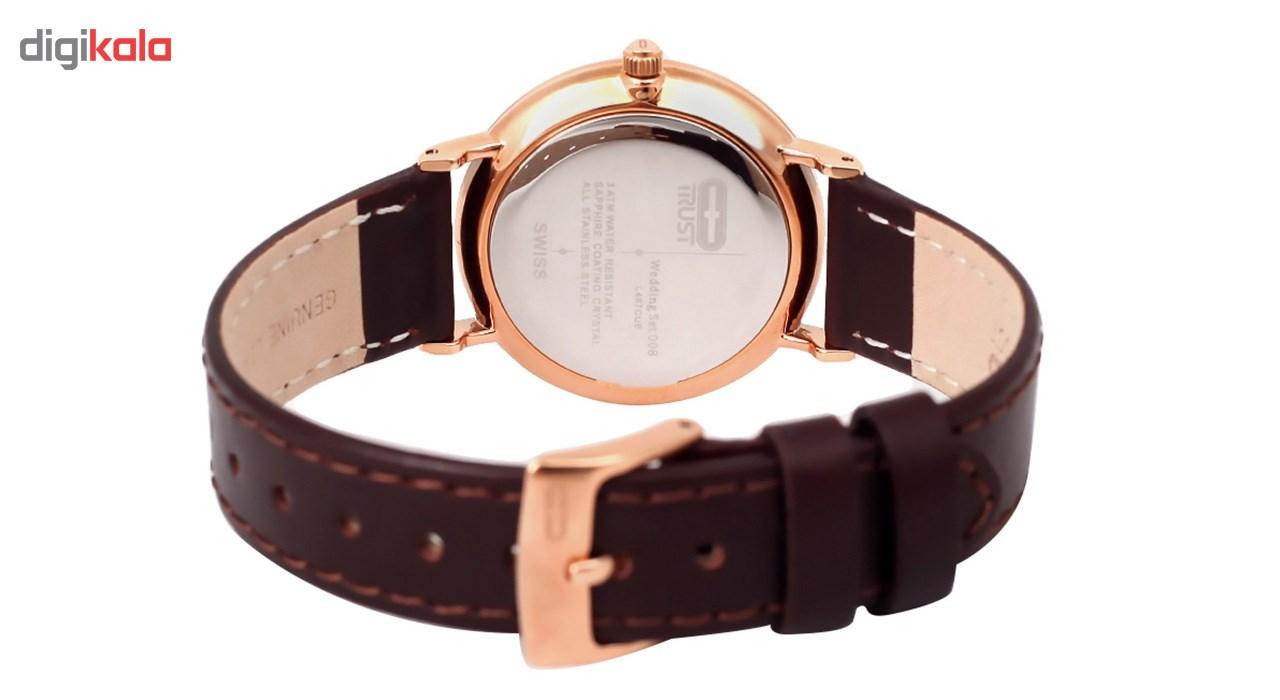 ساعت مچی عقربه ای زنانه تراست مدل L467CUE