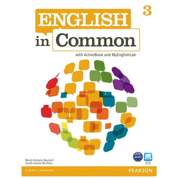 کتاب زبانEnglish In Common 3 Workbook AND Studen Book-CD