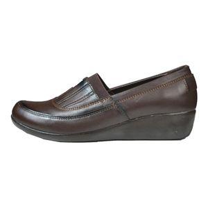 کفش چرم زنانه آریوان مدل ARZ5524GH