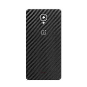 برچسب تزئینی ماهوت مدل Carbon-fiber Texture مناسب برای گوشی  OnePlus 3