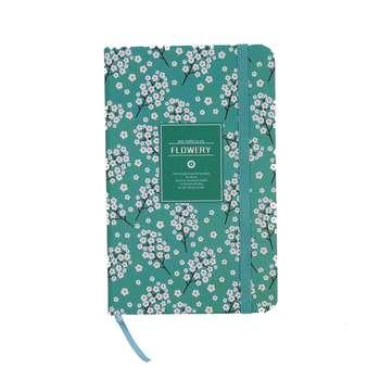 دفتر یادداشت کوچک فانزی مدل Flowery