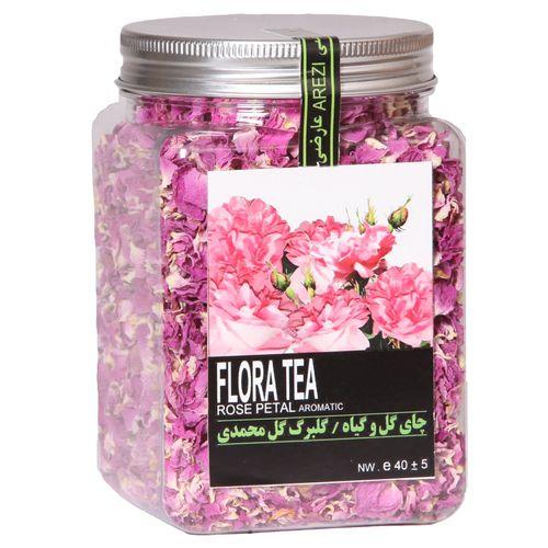 دمنوش گلبرگ گل محمدی عارضی بسته بندی پت مدل Rose Petal Aromatic - 02
