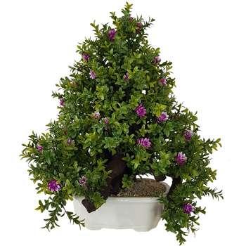 گلدان به همراه درختچه مصنوعی بخشی مدل ANBN7510