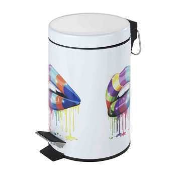 سطل زباله پدالی ونکو مدل lip گنجایش 3 لیتر