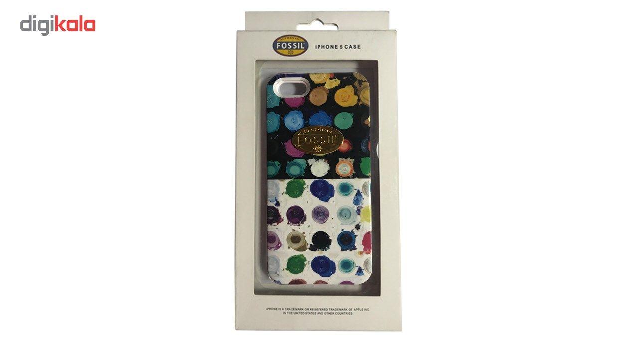 کاور مدل Fossil PC47 مناسب برای گوشی موبایل آیفون 5s/5/SE main 1 2