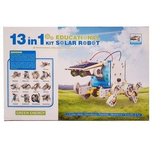 کیت آموزشی ربات خورشیدی مدل Green Energy 13 in 1