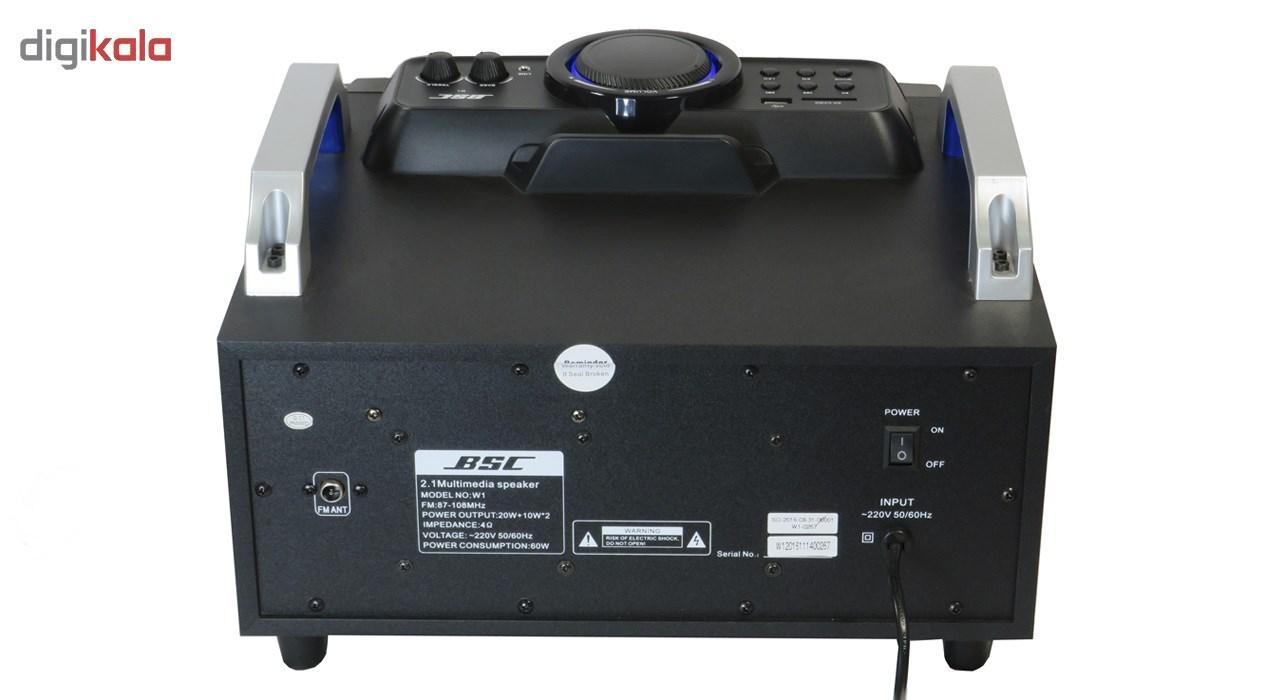 پخش کننده چند رسلنه ای بی اس سی مدل W1
